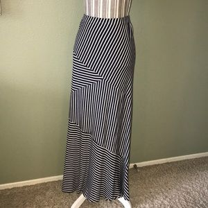 Coldwater Creek Maxi Striped Skirt 2X